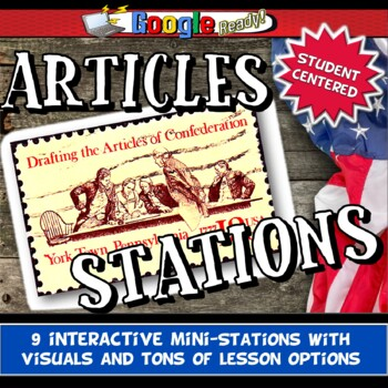 Weaknesses of the Articles of Confederation Analysis Stations Activity