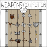 Weapons Collection by Bunny On A Cloud