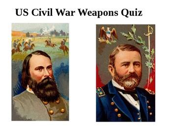 Weapons of US Civil War Quiz