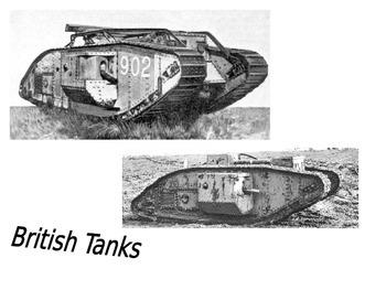 Weapons of World War One Quiz