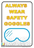 Wear Safety Goggle Poster