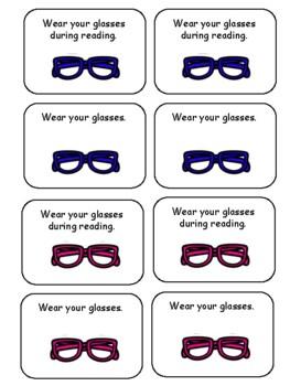Wear Your Glasses Reminder