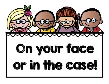 Wear your Glasses Sign