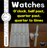 Wearable watches - Telling time activity