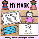 Wearing My Mask   A Social Story    Emergent Reader   Healthy Habits