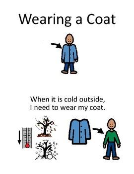 Wearing a Coat Social Story
