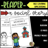 Wearing a Face Covering Mask Back to School Social Studies Reader