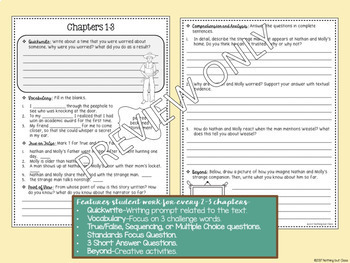 Weasel: Comprehension and Vocabulary by chapter