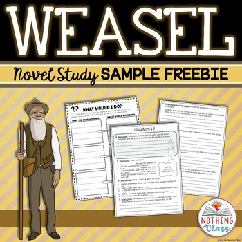 Weasel Novel Study Unit: FREE Sample