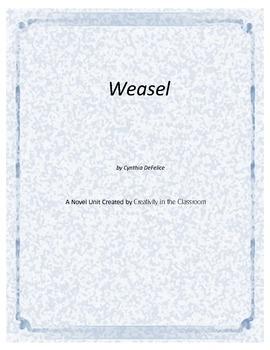 Weasel Novel Unit Plus Grammar