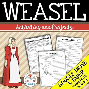 Weasel: Reading Response Activities and Projects
