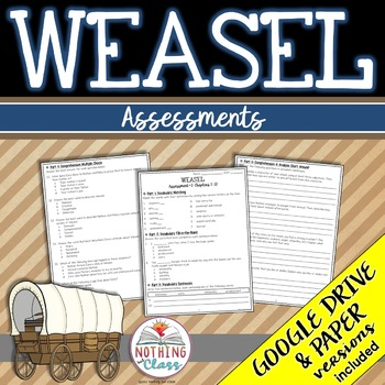 Weasel: Tests, Quizzes, Assessments