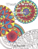 Weasie's World of Doodles Colouring Book 2
