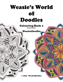 Weasie's World of Doodles, Colouring Book 1