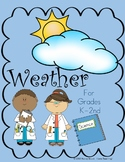 Weather Activities For Grades K-2