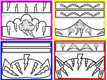 weather craft by kindergarten printables teachers pay teachers