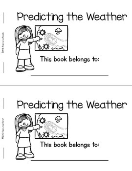 Predicting Weather a Guided Reading Weather Resource