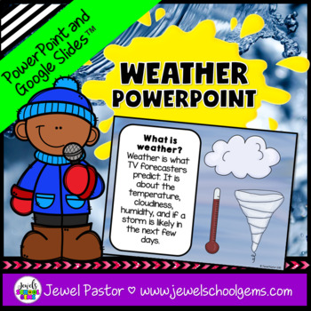 Weather Activities (Weather PowerPoint)