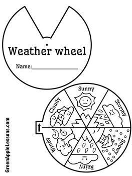 Weather Craft | Weather Activity | Weather Kindergarten | Weather First Grade