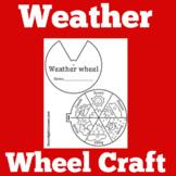 Weather | Preschool Kindergarten 1st 2nd Grade | Craft Act