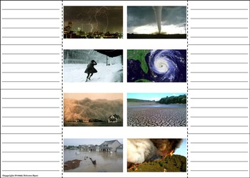 Severe Weather Unit: Natural Disasters Activity: Hurricane, Tornado etc