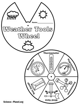 weather tools activity weather tools worksheet by green apple lessons science. Black Bedroom Furniture Sets. Home Design Ideas