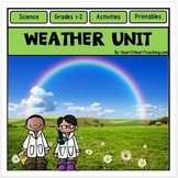 Weather Unit - Water Cycle, Clouds, Precipitation - Make a Weather Mobile!