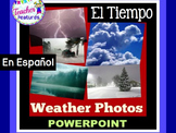 Weather Powerpoint in Spanish