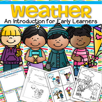 Weather Activities Theme Unit for Preschool and Pre-K