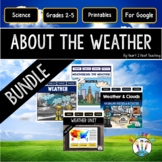 Weather Bundle: Erosion, Clouds, Maps. Weather Instruments, Weather Tools