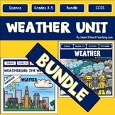 Weather Bundle: Erosion, Clouds, Maps, Weather Tools {Both Print & Digital}