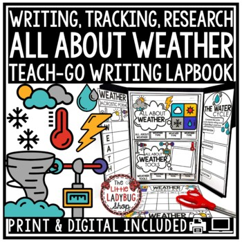 Weather Research & Weather Activity Lapbook
