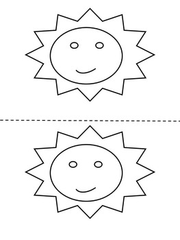 Weather - Coloring book - Mini Book - Weather Graphing - Weather ...