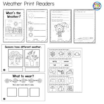 Weather Mini Books