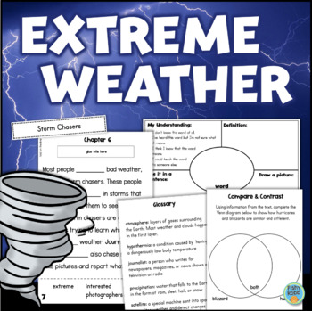 Weather Interactive Reading Comprehension