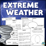Extreme Weather STORMS Interactive Reading Comprehension Hurricanes Tornadoes