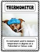 Weather Vocabulary Posters & Activities