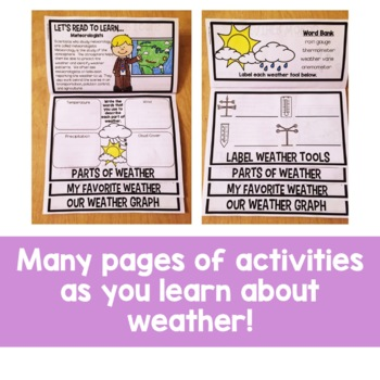 Weather Flip Up Book