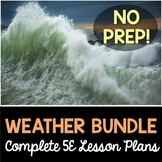 Weather 5E Lesson Plans Bundle - Complete Lesson Plans