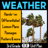 Weather 5E Science Unit Plan for Third Grade