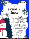 Weather {A HOME OF SNOW} ELA & MATH Quick Pack
