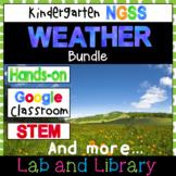 Weather: A Kindergarten NGSS Science Unit (K-ESS2-1, K-ESS3-2, K-PS3-1, K-PS3-2)