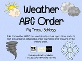 Weather ABC Order,