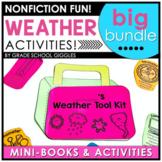 Weather Unit Activities BUNDLE | Book | Craft | Experiment