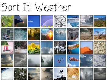Weather Activities Bundle (Weather, Clouds, & Water Cycle)