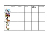 Weather, Activities, Clothing in French worksheet