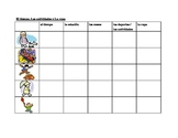 Weather, Activities, Clothing in Spanish worksheet
