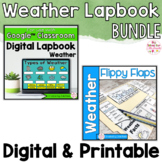 Weather Activities Interactive Notebook Digital and Printa
