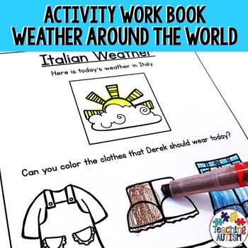 Weather Around the World Worksheets