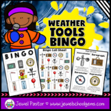 Weather Activities (Weather Tools Science Bingo)